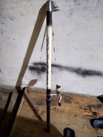 Удочка 6 метров с катушкой