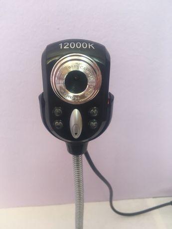 Camera web noua cu microfon incorporat usb si buton volum 4 leduri
