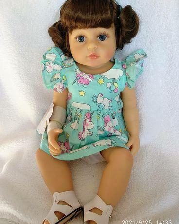 Reborn кукла силиконовая
