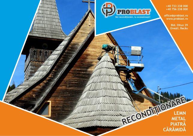 Renovare reconditionare imobile cladiri cabane lemn caramida piatra