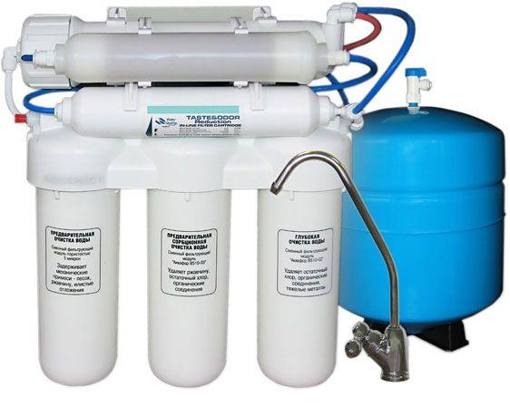 Фильтры воды под мойку продажа установка обслуживание Аквафор и др.