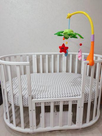 Детская кроватка «Северянка 3». Трансформер 9 в 1.