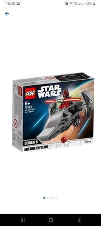 "Sigilat LEGO STARWARS Microfighter 75224 "" Sith Infiltrator """