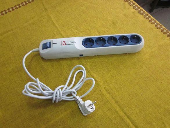 Разклонител със SIM-карта за аудиоконтрол