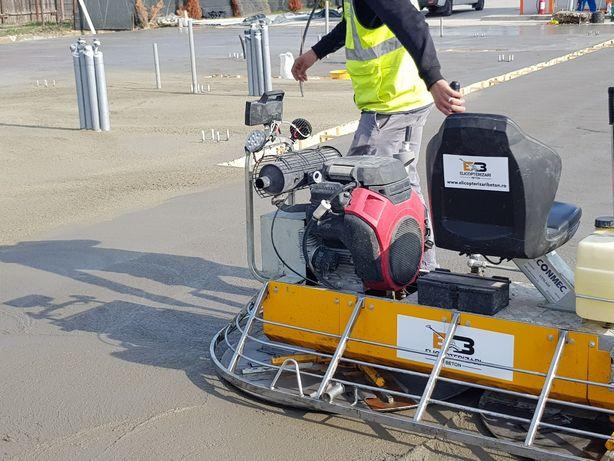Elicopterizare beton, platforme industriale