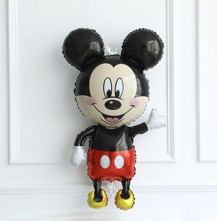 Цял ръст Мики Маус 112 см . фолиев балон mickey mouse