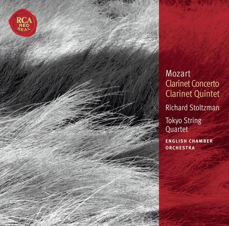 CD Mozart: Clarinet Concerto; Clarinet Quintet - RCA