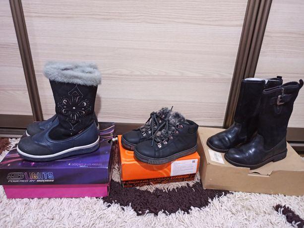 Обувь для девочки 28 размера.