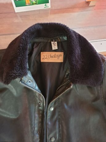 pilot jacket 22 vintage shell fabric-пилотско яке