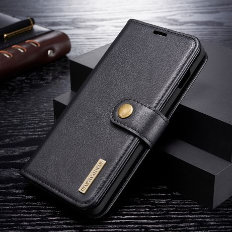 Husa Samsung S10 piele 2in1, protectie superioara, carte, stand,CaseMe