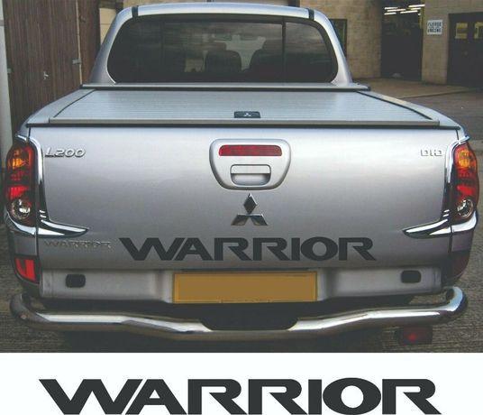 Mitsubishi warrior стикер mitsubishi sticker off road sticker
