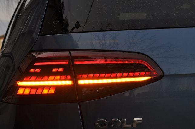 Stopuri LED VW Golf 7 semnalizare dinamica Facelift look