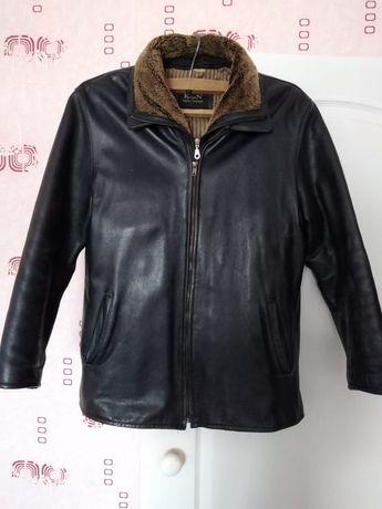 Продам зимнюю кожанную куртку