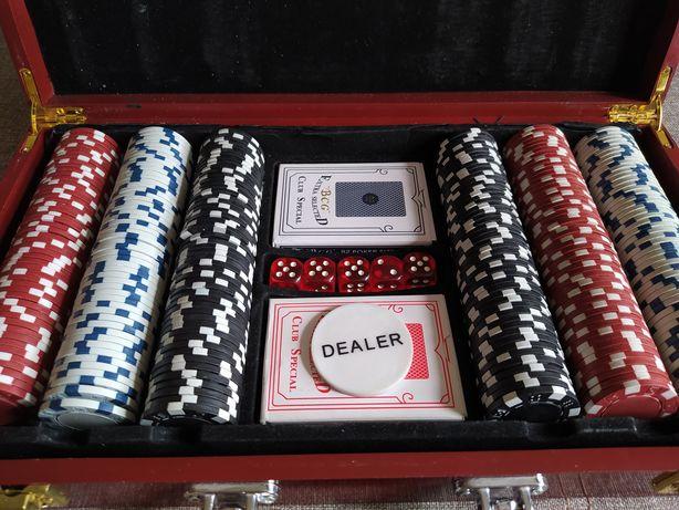 Покер. Набор (настольная игра)