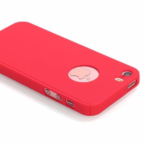 Husa 360 GRADE FATA - SPATE compatibila iPhone 5/5S/5SE + Folie