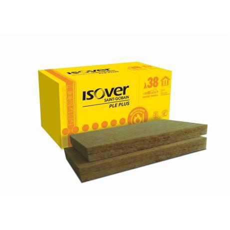 Vata bazaltica Isover PLE Plus, 5 x 100 x 60 cm, 7.2 m²