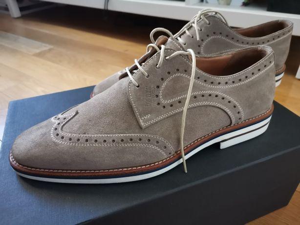 Pantofi din piele întoarsă Loriblu
