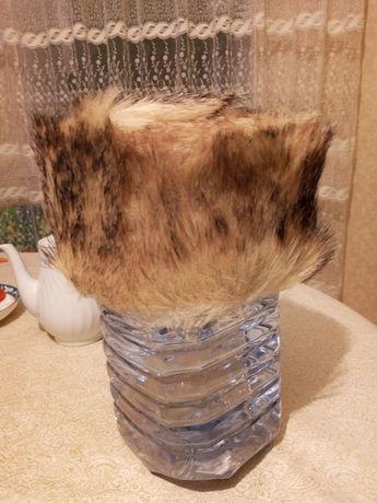 Новая шапка мужская енот