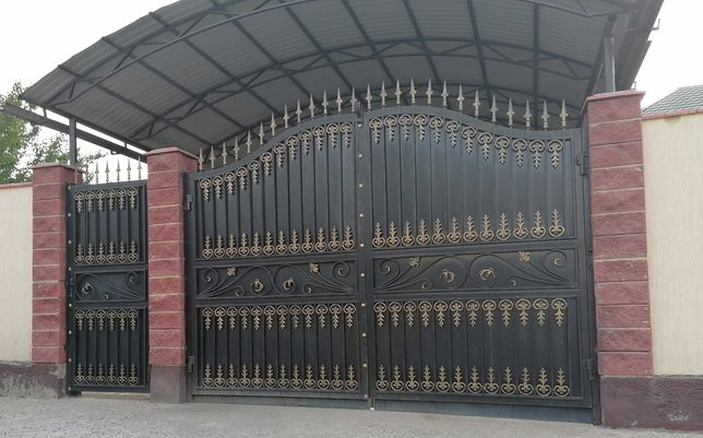 ворота,решётки,качели,навесы,двери,беседки,ограды,