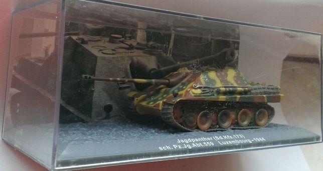 Macheta Tanc Jagd Panther SD.Kfz 173 Germania 1944 WW2 - Altaya 1/72