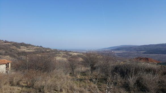 Продавам парцел 580 кв.м в Генерал Кантарджиево с панорама към морето