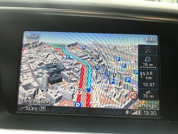 SD CARD Hărți Europa 2020 Navigatie Audi A4 A5 A6 A7 A8 Q5 Q7 VW