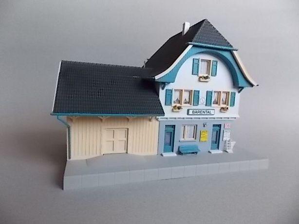 Vand gara asamblata pentru diorama trenulete,sc.1:87-nr.4