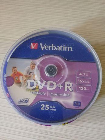 DVD+R Printabil 25 buc VERBATIM