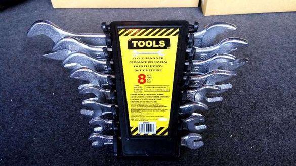 Комплект Нови Гаечни Ключове Инструменти за Автомобила Гараж