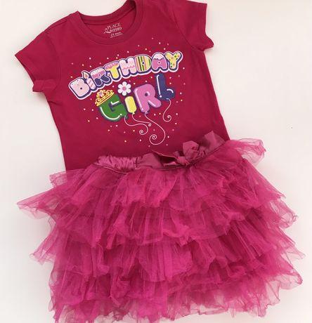 Сет от ту-ту поличка и блузка, подходящ за 2ри рожден ден