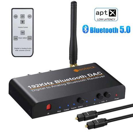 Цифрово аналогов аудио конвертор DAC/ДАК с Bluetooth/блутут и дистан