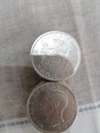 Moneda argint 500lei regele Mihai 1944