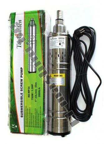 Водна помпа потопяема дълбочинна 750W 24 м. гаранция(ПРОДАЖБИ НА Л