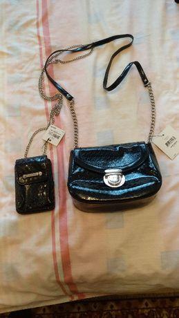 Дамска чантичка с портмоне Nine West