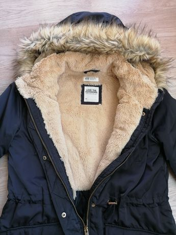 Ватирана парка H&M с размер 158 см. / bpc - дамско яке