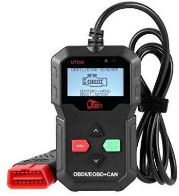 Diagnoza auto Uten OBD II / Cititor de cod EOBD Testul scanerului auto