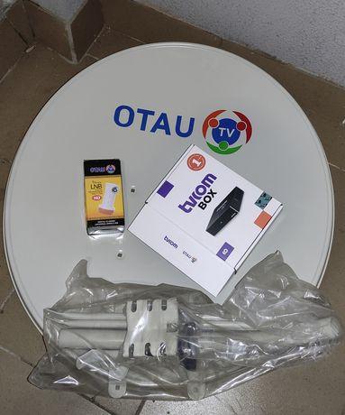 Otau Tv новый продам. Установщик есть. Отау тв  все детали.