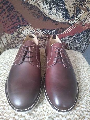 Чисто нови мъжки обувки Porter естествена кожа, номер 43