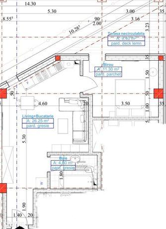 Apartament 2 camere etaj 3/4Valea Rosie Bloc nou comision 0%