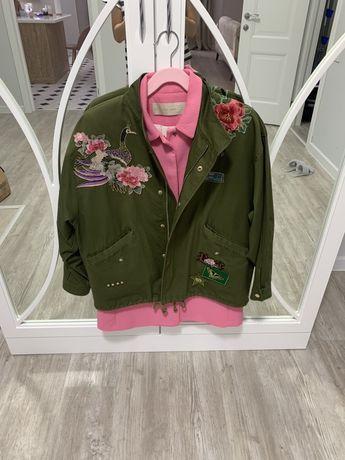 Куртка оверсайз Zara