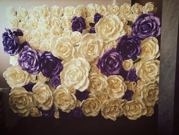 Стена от цветя за сватба, кръщене, фотосесия ,магазин, офис, шоурум