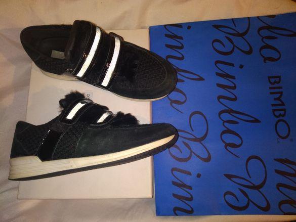 Черни спотни обувки Dolce Gabbana 100 % кожа