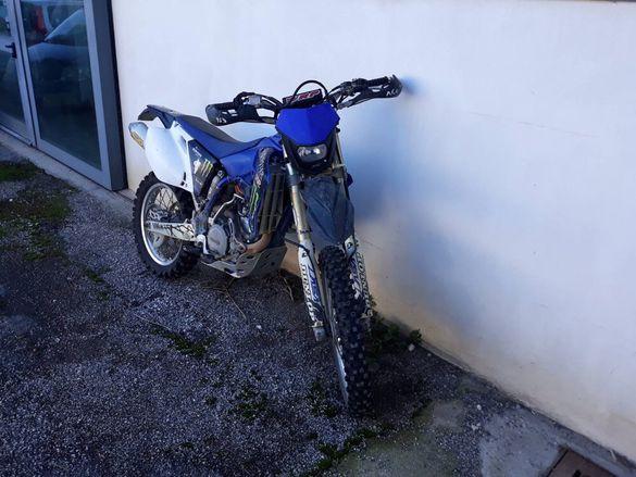 Yamaha wr 450 Ямаха вр На части