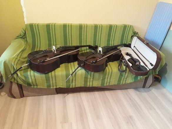 Цигулка и виолончело
