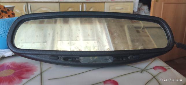 Продам зеркало заднего вида с авто затемнением.