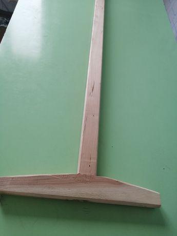 Швабра деревянная новая