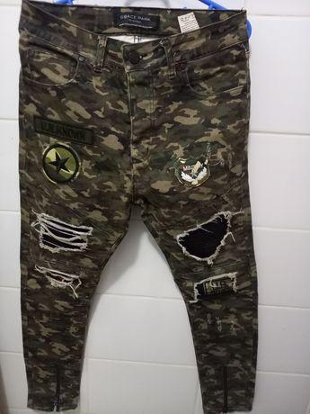 Lot blugi Army pantaloni trening și hanorac 13-14 ani mărimea s