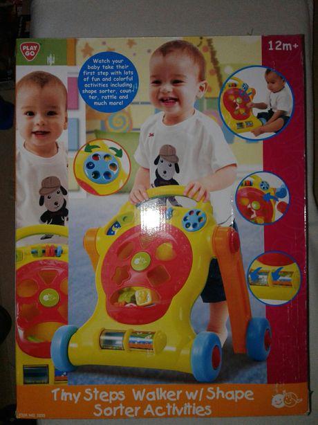 Centru joaca/ Premergator Play Go, >12m, sortator/telef nou, nefolosit