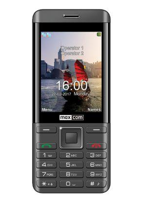 Maxcom MM 236 Dual SIM Silver - nou - sigilat