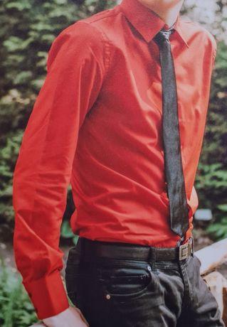 Cămașă bărbați roșie